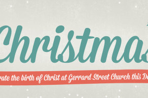 This Christmas we are seeking to remember and celebrate the birth of our Saviour Jesus Christ in a number of exciting ways. All are very welcome to all our celebration […]