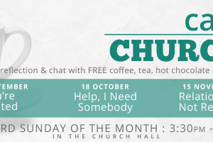 At Cafe Church we come together in a fun, friendly, cafe style format to listen to music, chat, eat cake and reflect on a specific theme in the context of […]